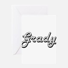 Grady Classic Style Name Greeting Cards