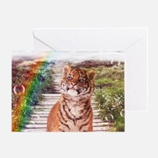 Tigers soap bubbles Greeting Cards