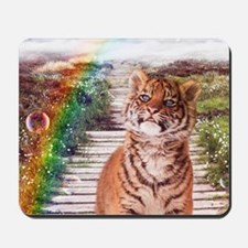 Tigers soap bubbles Mousepad