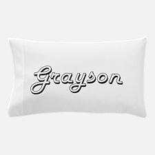 Grayson Classic Style Name Pillow Case