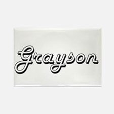 Grayson Classic Style Name Magnets