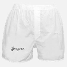 Grayson Classic Style Name Boxer Shorts