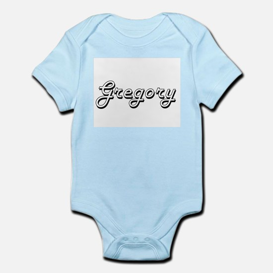 Gregory Classic Style Name Body Suit