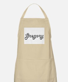 Gregory Classic Style Name Apron