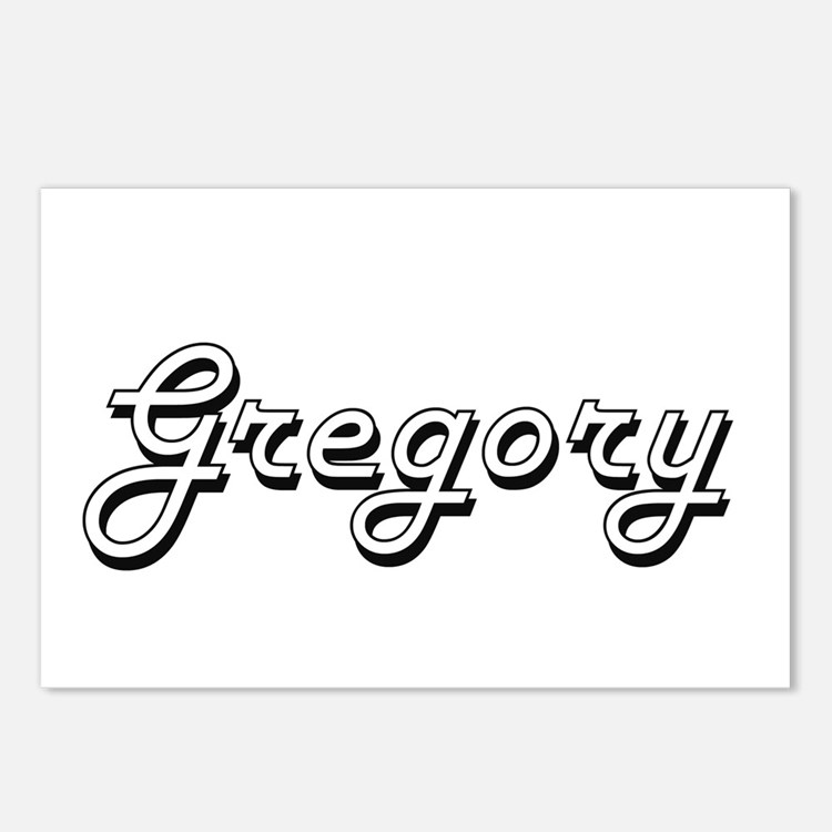 Gregory Classic Style Nam Postcards (Package of 8)