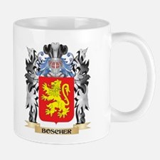 Boscher Coat of Arms - Family Crest Mugs