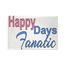 Happy Days Fanatic Rectangle Magnet