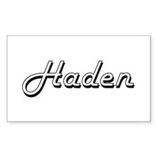 Haden Classic Style Name Decal