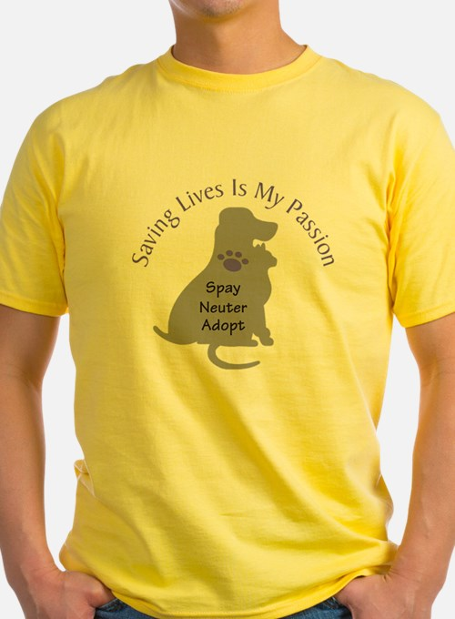 Saving Lives Is My Passion T-Shirt