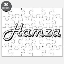 Hamza Classic Style Name Puzzle