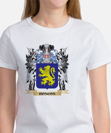 Boscos Coat of Arms - Family Crest T-Shirt