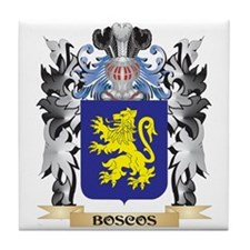 Boscos Coat of Arms - Family Crest Tile Coaster
