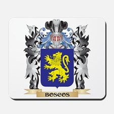 Boscos Coat of Arms - Family Crest Mousepad