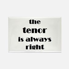 tenor right Rectangle Magnet