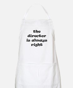 director always right Apron