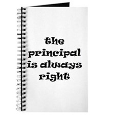 principal always right Journal