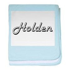 Holden Classic Style Name baby blanket