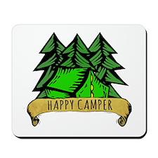 Happy Camper. Mousepad