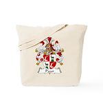 Paur Family Crest Tote Bag