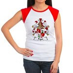 Paur Family Crest Women's Cap Sleeve T-Shirt