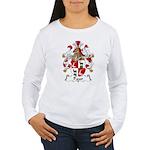 Paur Family Crest Women's Long Sleeve T-Shirt