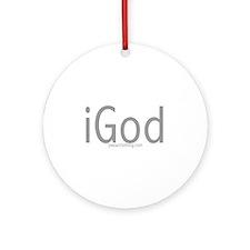 iGod Ornament (Round)