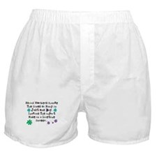 Social Worker Quote Boxer Shorts