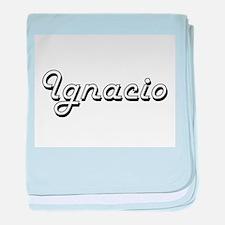 Ignacio Classic Style Name baby blanket