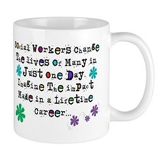 Social Worker Quote Mugs