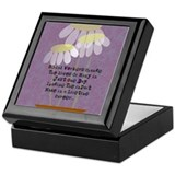 Retirement social worker box Square Keepsake Boxes
