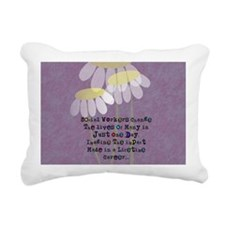 Social Worker Quote Rectangular Canvas Pillow