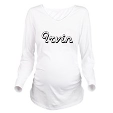 Irvin Classic Style Long Sleeve Maternity T-Shirt