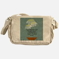 Social Worker Quote Messenger Bag