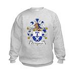 Ortmann Family Crest Kids Sweatshirt
