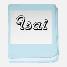 Isai Classic Style Name baby blanket