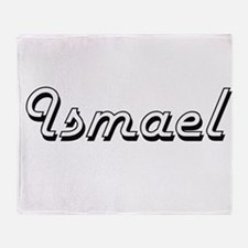 Ismael Classic Style Name Throw Blanket