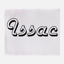 Issac Classic Style Name Throw Blanket