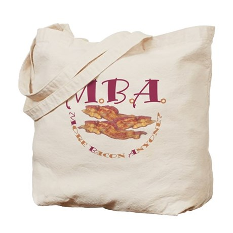 MBA Bacon Tote Bag