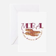 MBA Bacon Greeting Cards (Pk of 10)