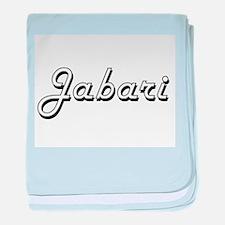 Jabari Classic Style Name baby blanket