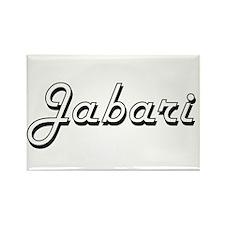 Jabari Classic Style Name Magnets