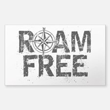 Roam Free. Decal