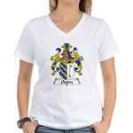 Osten Family Crest Women's V-Neck T-Shirt