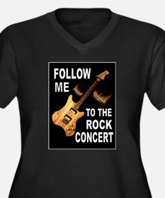 ROCK CONCERT Plus Size T-Shirt