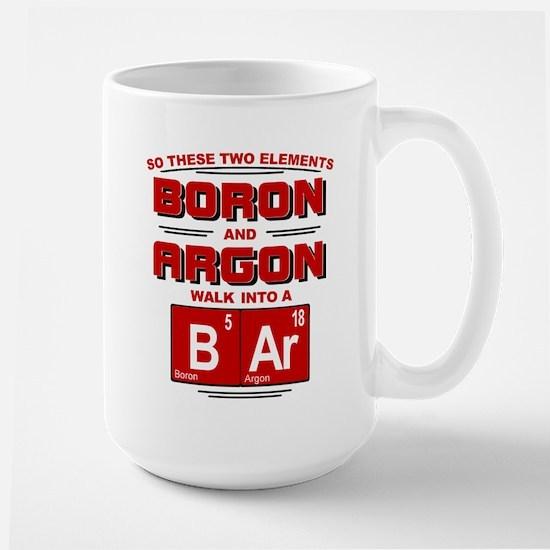 Boron & Argon Walk Into A BAr Mugs