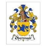 Obermair Family Crest Small Poster