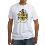 Obermair Family Crest Fitted T-Shirt