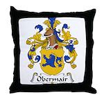 Obermair Family Crest Throw Pillow