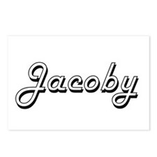 Jacoby Classic Style Name Postcards (Package of 8)