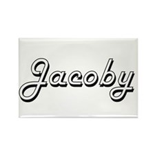 Jacoby Classic Style Name Magnets